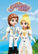 Brick Princess Leah