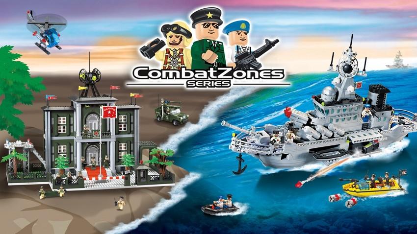 Конструктор Brick Combat Zone