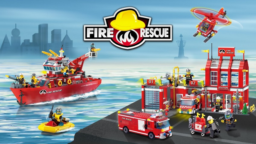 Конструктор Brick Fire Rescue