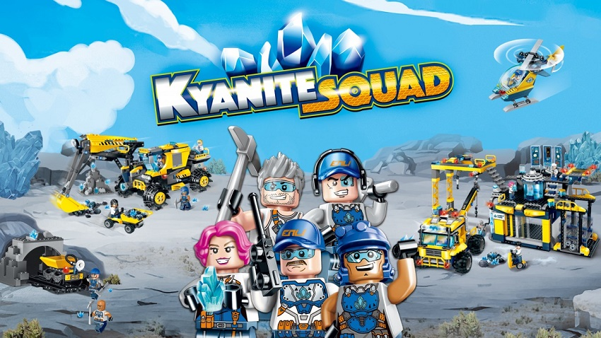 Конструктор Brick Kyanite Squad