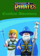 Конструктор Brick Legendary Pirates
