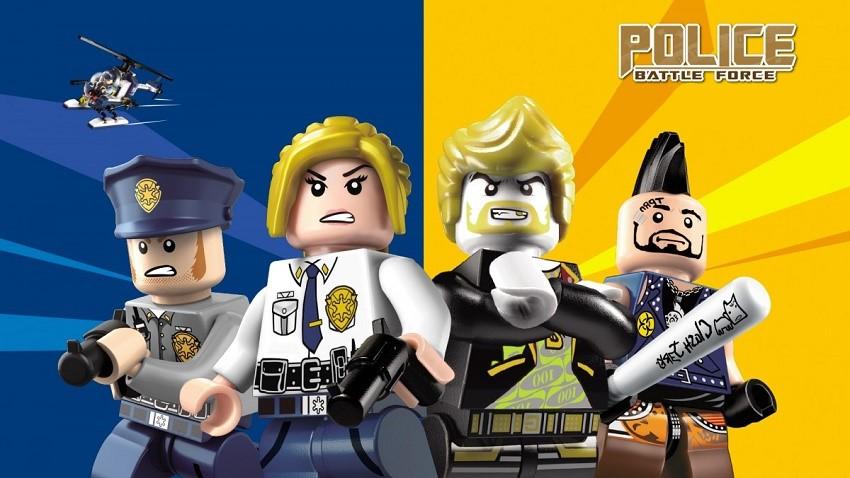 Конструктор Brick Police