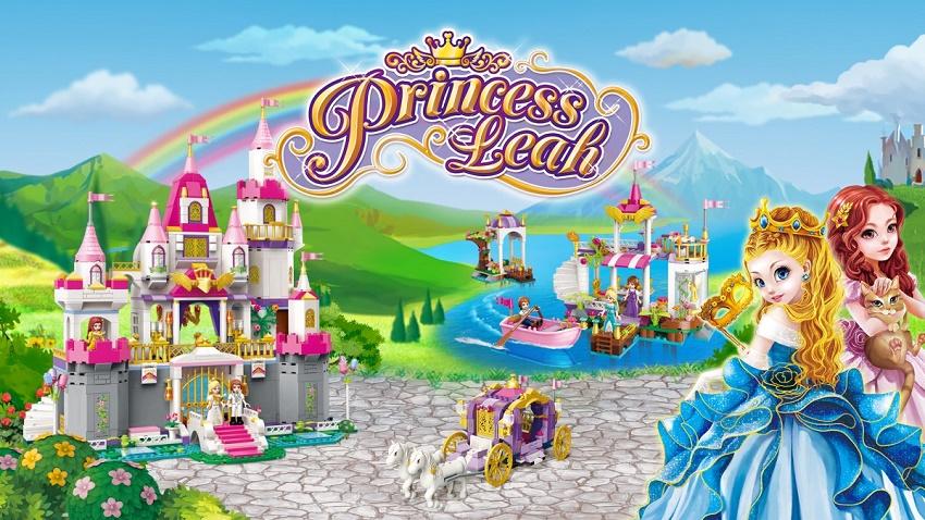 Конструктор Brick Princess Leah