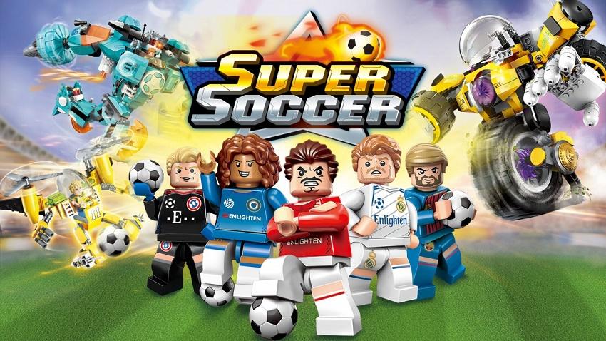 Конструктор Brick Super Soccer