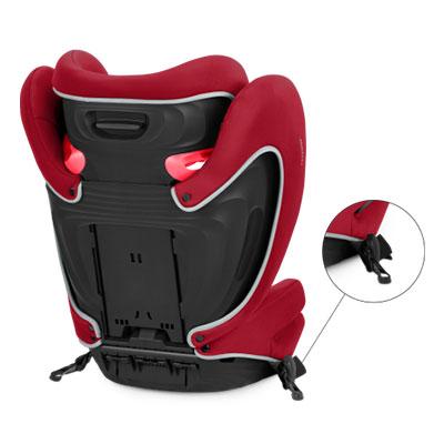 Стол за кола Solution B-fix Dynamic red