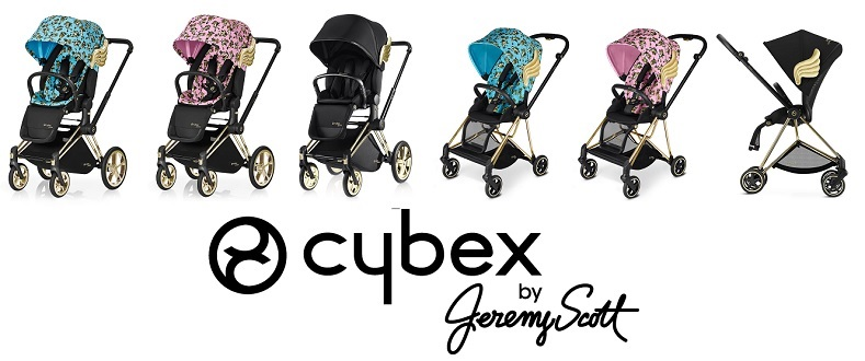 Бебешка количка Cybex Jeremy Scott Fashion Collection - Raya Toys
