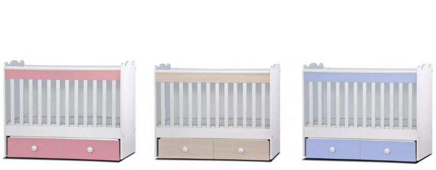 Дървено легло Dizain Baby Тони