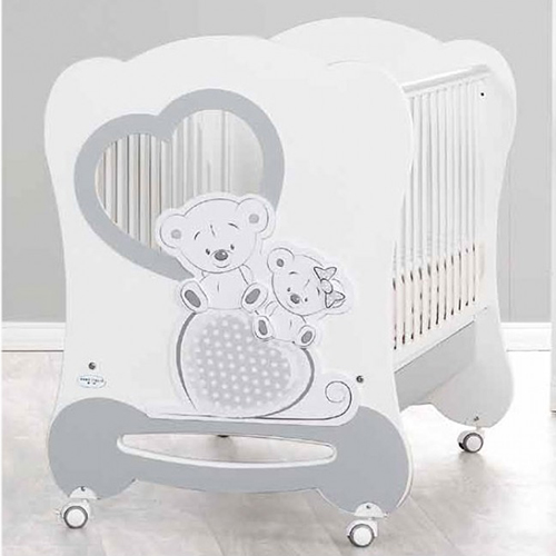 Бебешко дървено легло Baby Italia Freddy - Raya Toys