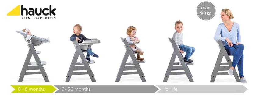 Детско столче за хранене Hauck Alpha Plus