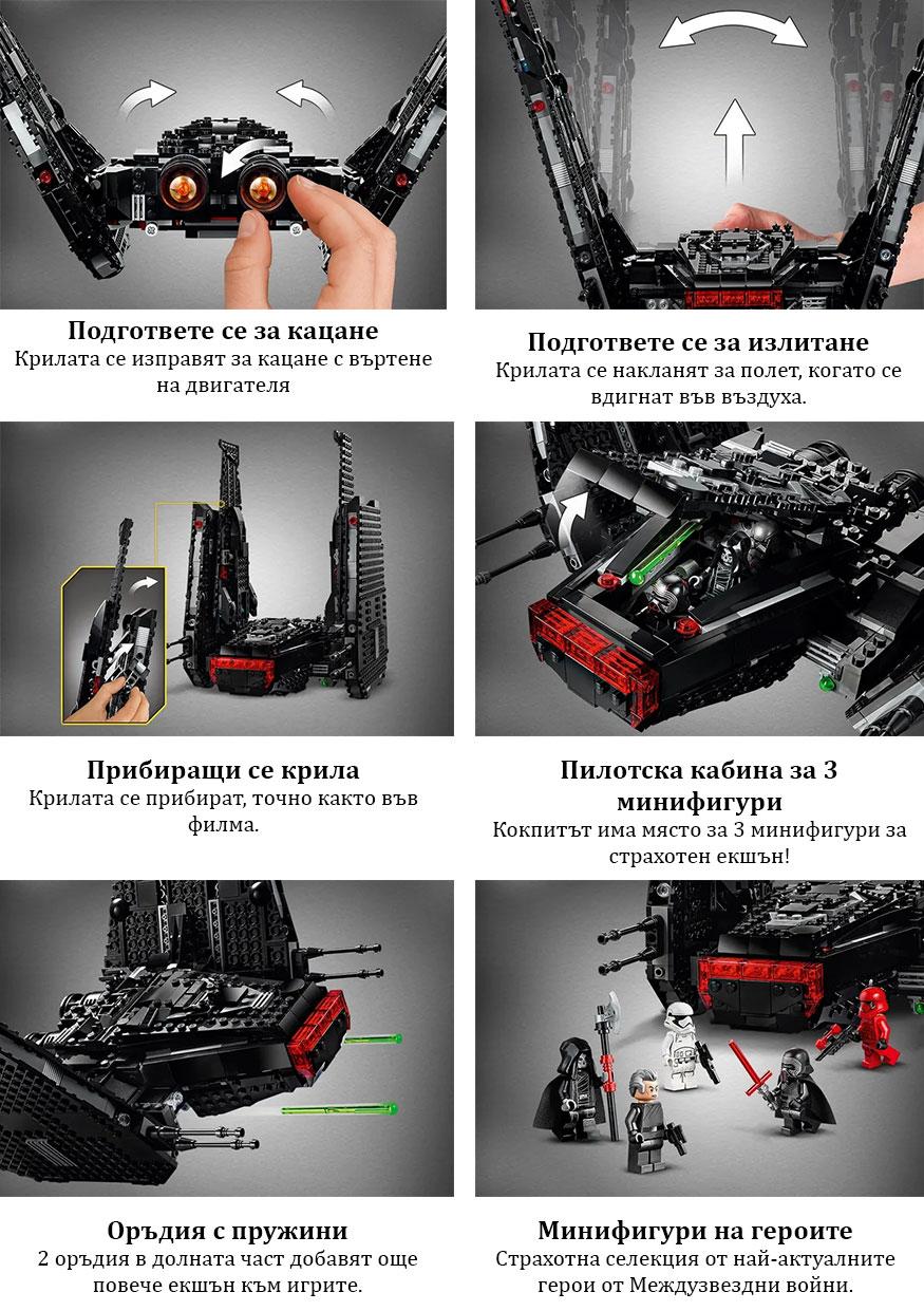 Характеристики Kylo Ren`s Shuttle™