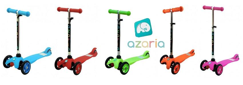 Тротинетка Azaria Mini с три колела